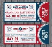 Baseball tickets Royalty Free Stock Photography