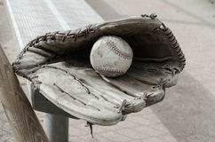 Baseball Times Gone By Stock Photos