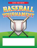 Baseball Tournament Illustration Stock Images