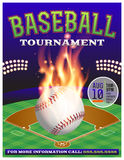 Baseball Tournament Illustration Stock Photos