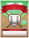Baseball Tournament Illustration Royalty Free Stock Images