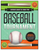 Baseball Tournament Illustration Stock Image