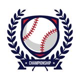 Baseball Tournament Logos Royalty Free Stock Images