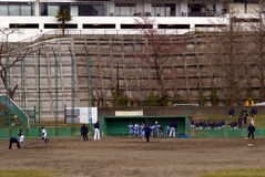 Baseball training, Sendai, Japan Stock Photography