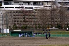 Baseball training, Sendai, Japan Royalty Free Stock Photos