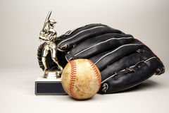 Baseball Trophy Royalty Free Stock Photo