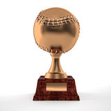 Baseball trophy Royalty Free Stock Photography