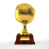 Baseball trophy Stock Images