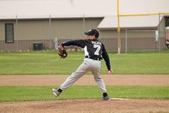 Baseball U14 della piccola lega Fotografie Stock