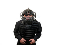 Baseball umpire stock image