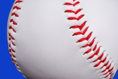 Baseball up close Royalty Free Stock Images