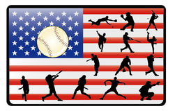 Baseball vector royalty free illustration