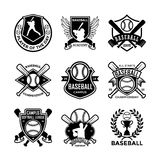 Baseball Vector Icons 2. Here is an awesome set of baseball badges that you are sure to find very useful. Hope you really enjoy using them Stock Images