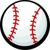 Baseball vector illustration. Vector illustration of a baseball Stock Photos