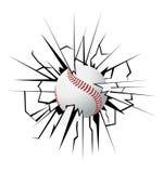 Baseball vector illustration stock photos