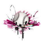 Baseball vector illustration Royalty Free Stock Photo
