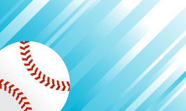 Baseball. A vector illustration of a baseball with stitches Stock Photography