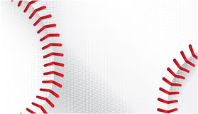 Baseball. A vector illustration of a baseball with stitches Royalty Free Stock Image