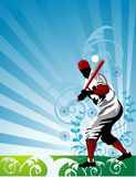 Baseball vector people Royalty Free Stock Photo