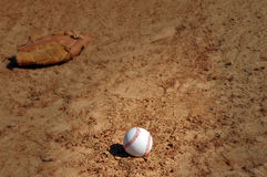 Baseball with Vignette stock photography