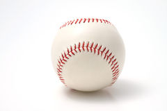 Baseball on a white background Royalty Free Stock Photography