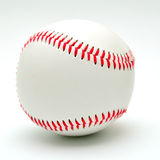 Baseball on a white background. Royalty Free Stock Photography