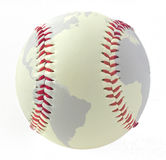 Baseball world Stock Image