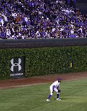 Baseball - Wrigley Field's Historic Ivy Walls Stock Photo