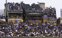 Baseball - Wrigley Field's Roof Top Seats Stock Photography