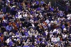 Baseball - Wrigley's Faithful Fans in Blue Royalty Free Stock Photography