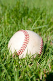 Baseball on the Yard. In American Baseball Stadium Royalty Free Stock Photography