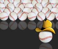Baseballa abstrakcjonistyczny tło royalty ilustracja