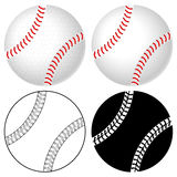 baseballa balowy set Zdjęcia Royalty Free