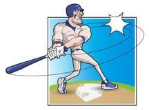 baseballa ciasta naleśnikowego kreskówka Zdjęcie Stock