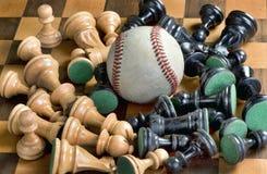 Baseballa czas jest Teraz obraz stock