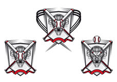 baseballa emblemat Fotografia Stock