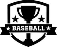 Baseballa emblemata filiżanka Zdjęcia Royalty Free