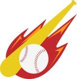 Baseballa logo Obraz Royalty Free