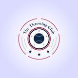 Baseballa logotypu szablon Zdjęcie Royalty Free