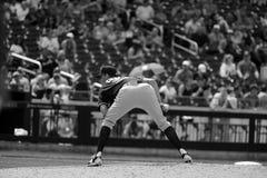 Baseballa miotacz Na kopu Obraz Stock