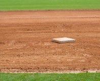 baseballa podstawowy pole Obrazy Stock