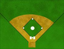 baseballa pole Fotografia Stock