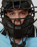 baseballa samiec maski model Fotografia Royalty Free