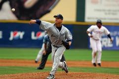 baseballa smoły miotacza uwolnienia Zdjęcie Stock