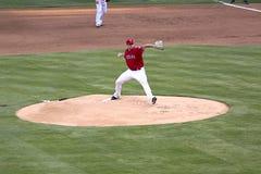 baseballa szczegółu gra Fotografia Stock