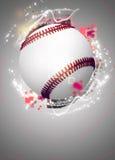 Baseballa tło Obraz Royalty Free