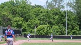 Baseballa uderzenie zdjęcie wideo