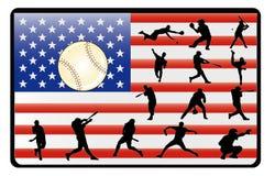 baseballa wektor royalty ilustracja
