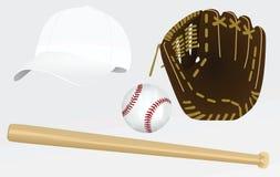 Baseballa wyposażenie Zdjęcia Royalty Free