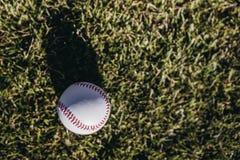 Baseballattribut royaltyfria foton